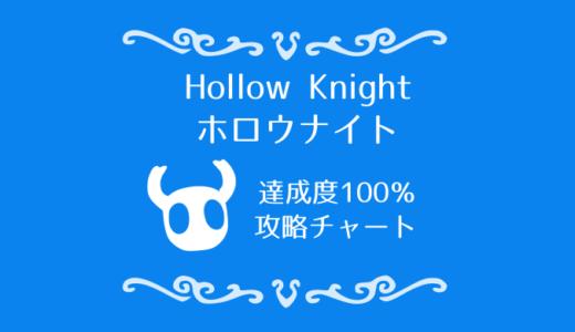 ホロウナイト攻略チャート【全マップ付】通常エンディング100%達成までの道のり『Hollow Knight』
